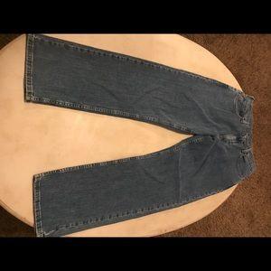 Wrangler men's relaxed straight jeans